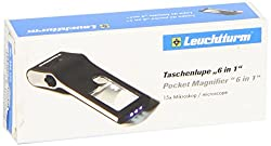 "Taschenlupe ""6 In 1"", Inkl. Led-mikroskop (+50-fach), Mit Beleuchtung"
