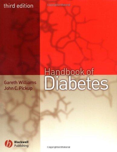 The Handbook of Diabetes by Williams, Gareth, Pickup, John C. (March 10, 2004) Paperback