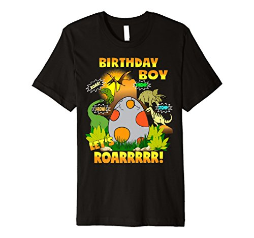 Jungen Dinosaurier Geburtstag Shirt Jedes Alter Party Thema Outfit