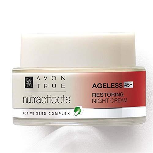 Avon Nutra Effects Anti-Aging Nachtcreme 45+Nachfolger der Solutions Ageless Bloom