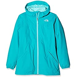 The North Face Kids Chaqueta Impermeable Eliana Triclimate Para Niñas Kokomo Green Xl