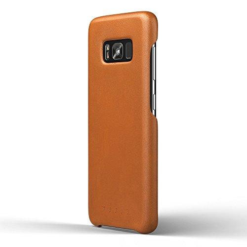 Mujjo Coque en Cuir pour Galaxy S8, Plus Galaxy S8 Peau