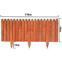 Plus de 50 EUR Clôture Xiaoyu Fence Clôture EUR clôture de Jardin en Bois Anti-Corrosion clôture de Jardin/Jardin / Gazon Petite clôture (Taille : 118 * 46CM) ccf8f4