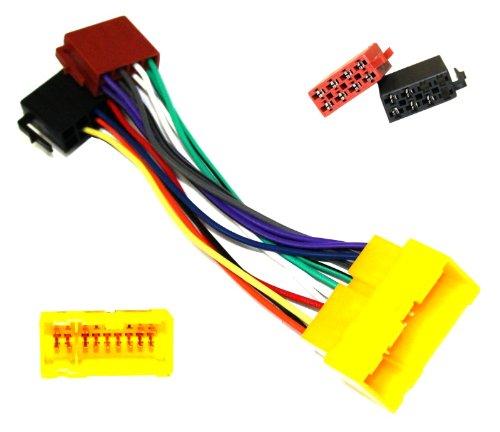 Aerzetix - A1 ISO-Konverter - Adapter - Kabel Radioadapter Radio Kabel Stecker ISO-Kabel Verbindungskabel