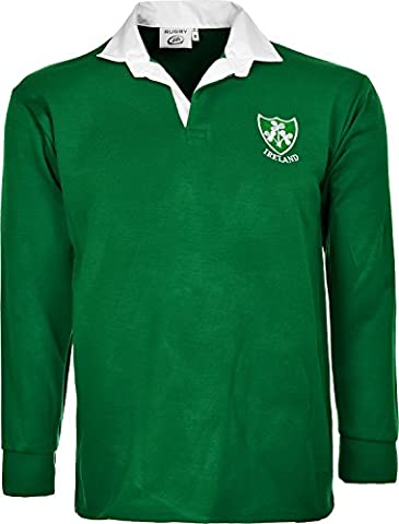 IRLANDAIS IRLANDE DE RUGBY SUPPORTER-SHIRT À MANCHES LONGUES TAILLE S