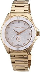 Cerruti 1881 Damen-Armbanduhr Analog Quarz CRM014P211B