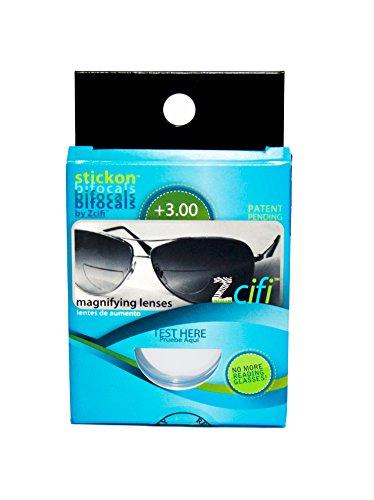 Leselinsen / Geeigneit für Sonnenbrillen / Weitsichtige / Spobrillen / LHZ (+3.00)