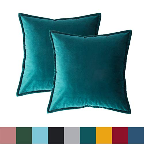 Bedsure Velvet Cushion Cover 2 P...