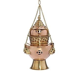NKlaus Basilica Anzmann Copper Handmade Decorative Gold/Brown 1556