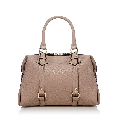 j-by-jasper-conran-womens-light-pink-buckle-detail-bowler-bag