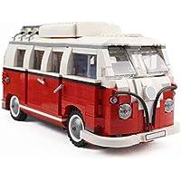 Camping Car Modelo de coche Bloques de construcción Conjunto Ladrillos Juguetes Para Niños Regalo de Niños Camp Van Juguetes Educativos Modelo de Juguete de Construcción