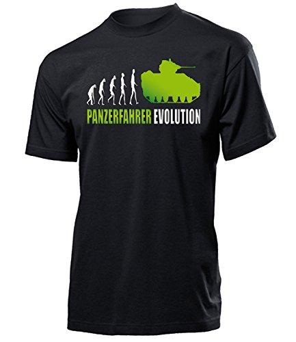 PANZERFAHRER EVOLUTION 2001(H-SW-Weiss-Grün) Gr. L