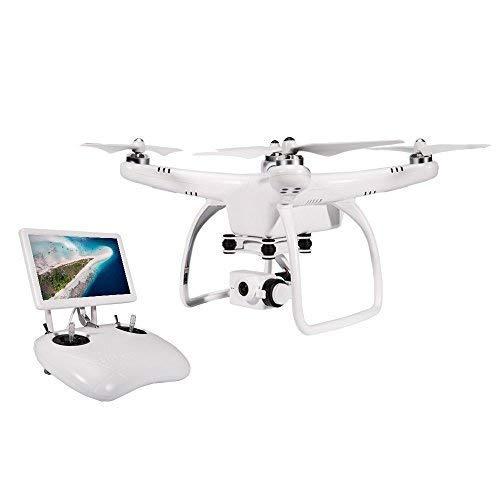 UPair One Drone quadricottero con videocamera 2,7K Full-HD, con radiocomando da 2.4GHz, volo FPV, trasmissione in diretta, Headless Mode, controllo dell'altitudine, ritorno a casa