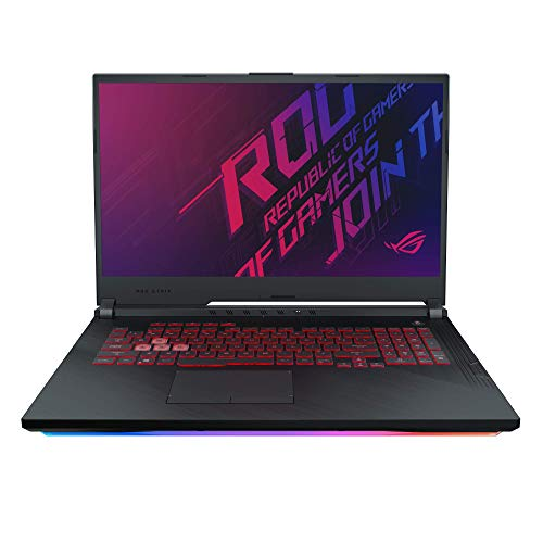 "ASUS ROG Strix G G731GT 17.3"" FHD Gaming Laptop GTX 1650 4GB Graphics (Core i7-9750H 9th Gen/16GB RAM/1TB SSHD + 256GB PCIe SSD/Windows 10/Black/2.85 Kg), G731GT-AU006T"