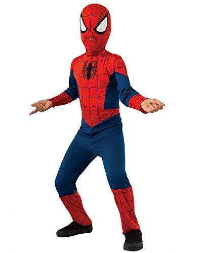 Spider Man Kinderkostüm für Fasching & Halloween (Muster Kostüm Spiderman)