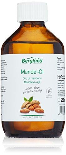 Bergland Mandel-Öl 250ml, 1er Pack (1 x 250 ml)