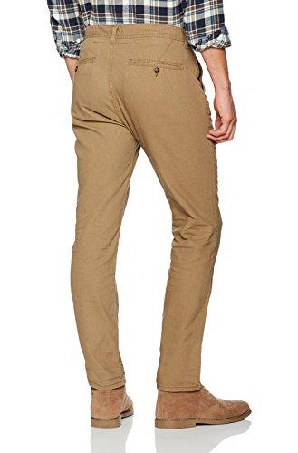 Springfield Chino Lino Slim Frq, Pantalon Homme Marron (marron)