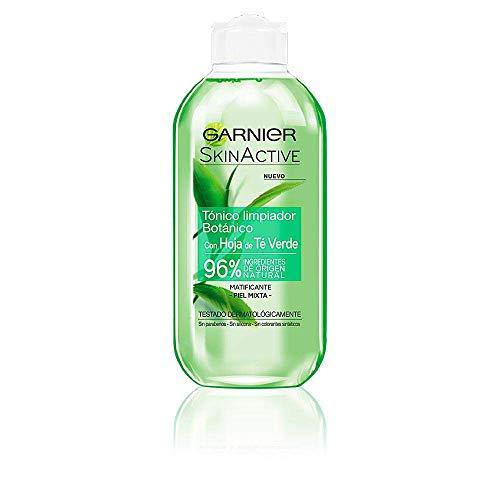 Garnier Skin Active Tónico Limpiador con Hoja de Té Verde - 200 ml