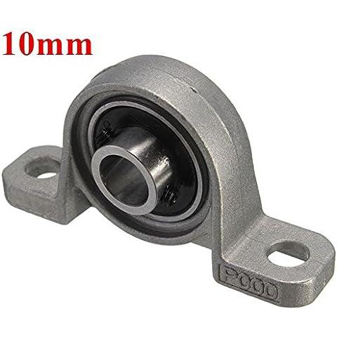 Yongse 10 millimetri foro del diametro Pillow Block Mounted cuscinetto a sfere KP000 lega di zinco - Cuscinetto A Sfere 10 Millimetri Foro