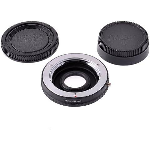 Neewer–Adattatore per lenti con vetro ottico per Minolta MD Mount
