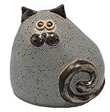 Fett und Chubby Keramik Katze