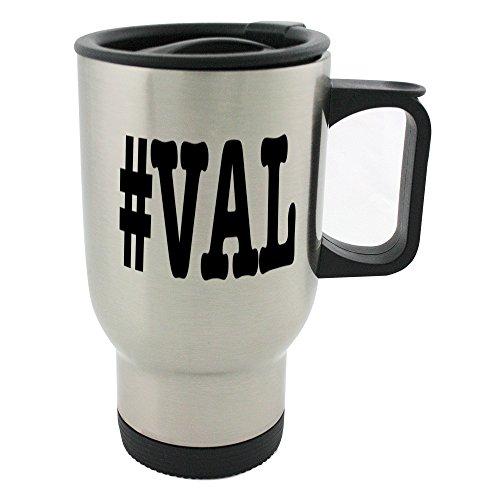 nicknames Val Nickname Hashtag Thermobecher, Edelstahl, Motiv -