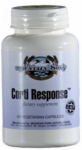 Corti Response Cortisol Manager provides advanced Herbal Adrenal Support to help Maximize your ability to Handle Stress. Contains Cocoa Extract for Mood Elevation and Green Tea to assist in Weight Loss and Fat Burning Support.