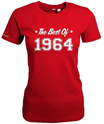 THE BEST OF 1964 - WOMEN T-SHIRT Rot