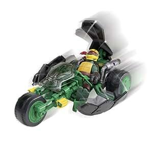 Teenage Mutant Ninja Turtles Ninja Stealth Bike and Exclusive Raphael
