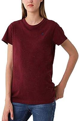 Scalpers Camiseta BÁSICA Logo Calavera Bordada - Burgundy/M