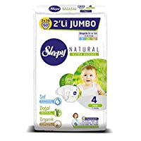 Sleepy Natural 2'li Jumbo Bebek Bezi