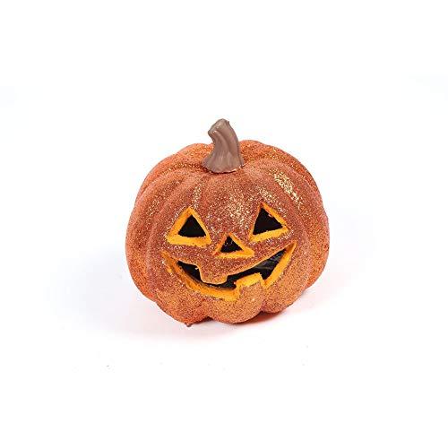 (Ndier Bunte Kürbislaterne für Kinder als Dekoration (Orange) 1PCS Artikel für Halloween)
