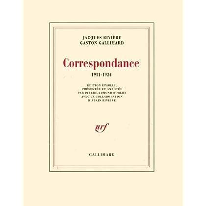 Correspondance: (1911-1924)