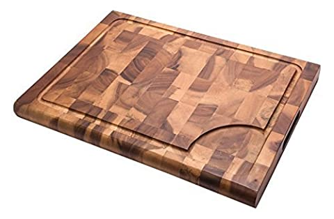 Sevy Reversible Durable End-Grain Construction Cutting Board by Sevy