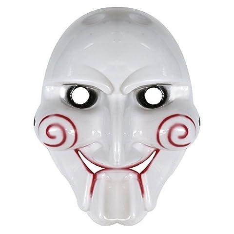 Unisex Billy the Puppet Halloween Plastic Mask