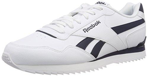60000e0d6d25f Reebok Royal Glide Rplclp, Zapatillas de Gimnasia para Hombre, Blanco  White/Collegiate Navy, 45 EU