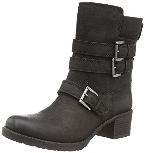 Rockport - City Casuals Rola Buckle Bootie, Stivali Donna Nero (Nero)