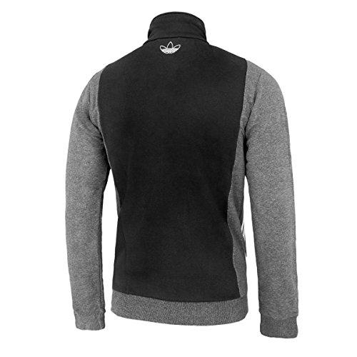 Adidas Jacke Slim Fit TT Herren black-dark grey (F77960)