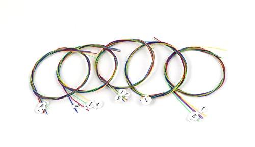 xdlee Colorful Carbon Nylon Konzert-Ukulele strings-high G für 58,4cm Ukulele 5 set