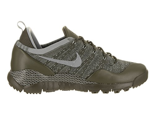 Nike Men's Lupinek Flyknit Low Casual Shoe Cargo Khaki/Mica Green