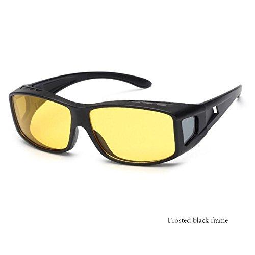 38edf5f51b Sunny HONEY Night Vision Driving Glasses No Glare Drivers Fishing Road