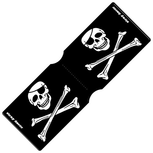 Stray Decor - Funda abono transporte negro Pirate