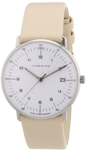 Junghans Women's Quartz Watch Max Bill 047/4252.00 with Leather Strap