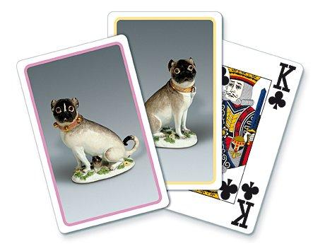 """Preisvergleich Produktbild Spielkarten """"Meissen - Möpse"""""""