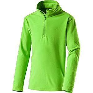 McKINLEY Kinder Ski Freizeit Fleece Rolli Sweatshirt Cortina II Green Flash