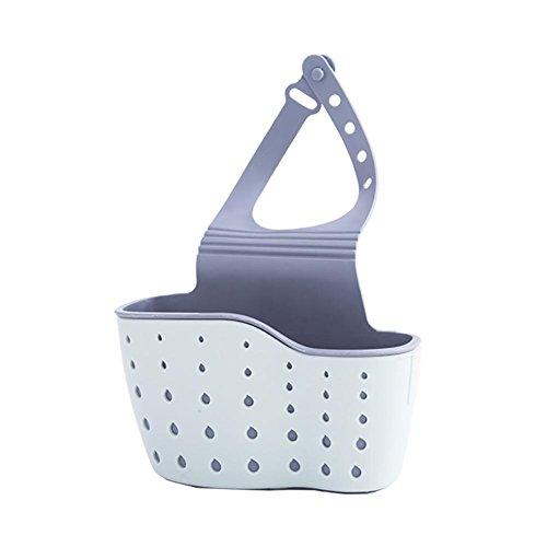 ktionale Waschbecken Caddy Basket Schwamm Halter Organizer Küche Lagerung Inhaber Werkzeugregal ()