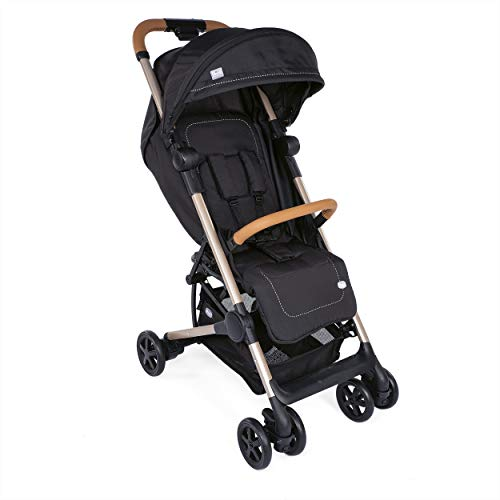 Chicco Miinimo2- Silla de paseo ultracompacta y ligera, 6 kg, color negro (Pure Black Special Edition)