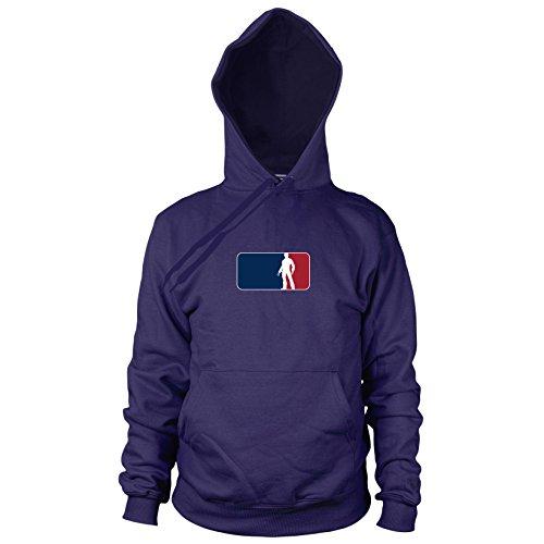 Logan League - Herren Hooded Sweater, Größe: XXL, dunkelblau