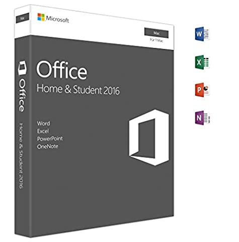 Microsoft Office Home and Student 2016 | Mac | Download