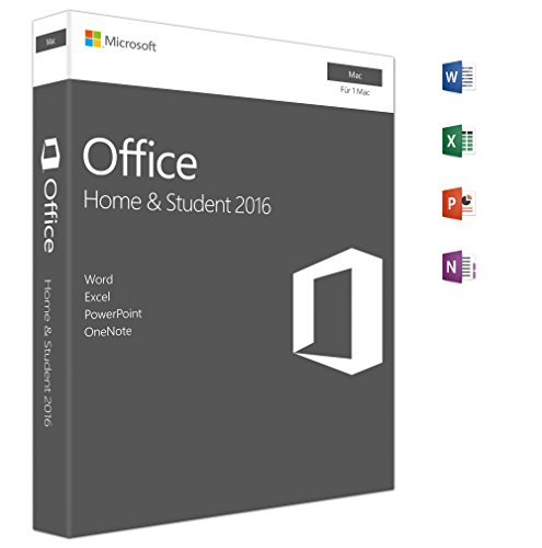 Microsoft Office Home and Student 2016 | Mac | Box (Microsoft Office 2010 Student)